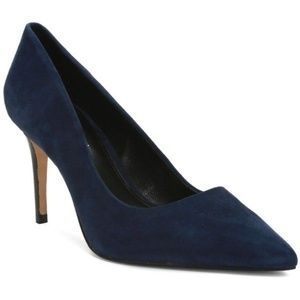 Elie Tahari Navy Pumps Size 7.5